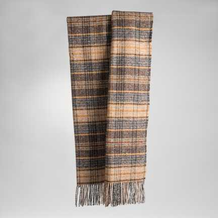Art. Ken Tweed Blanket with fringes