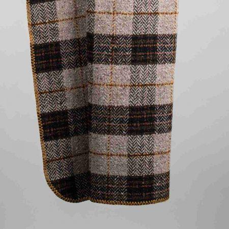 Plaid tweed art. Denver bordato