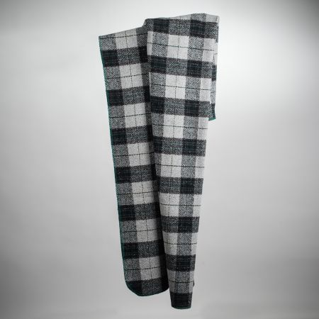 Plaid tweed art. Denver bordato