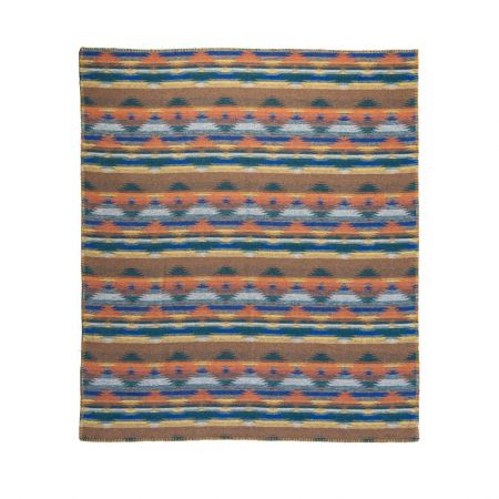 Art. Cherokee Wool Blend edged blanket
